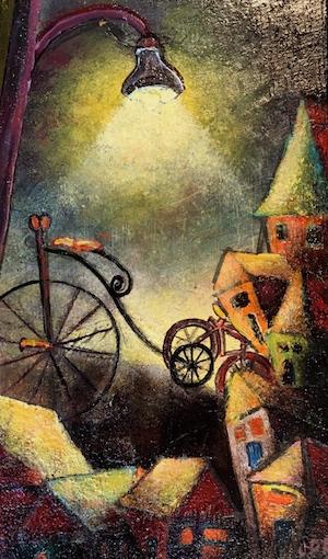 WEB wimsical bike painting copy